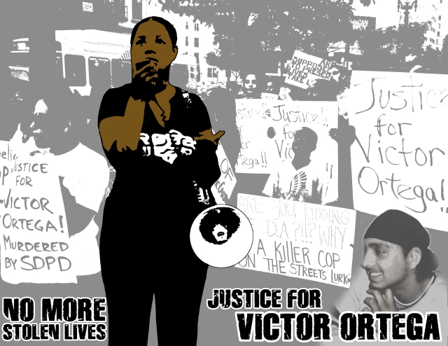 Widow of Victor Ortega, Speaking out about Police Terror
