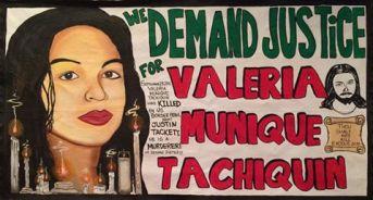 """""""Valeria Munique Tachiquin Justin Tackett"""" by  Artist Esmeralda #ValeriaMuniqueTachiquin #JustinTackett #BorderPatrol #Justice #JusticeWin #Justice4Valeria #SanDiego"""