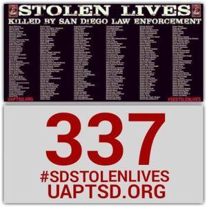 #SDTOLENLIVES UP TO 337
